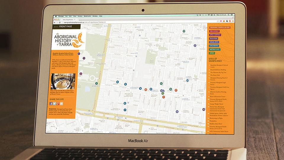 Aboriginal history of yarra website