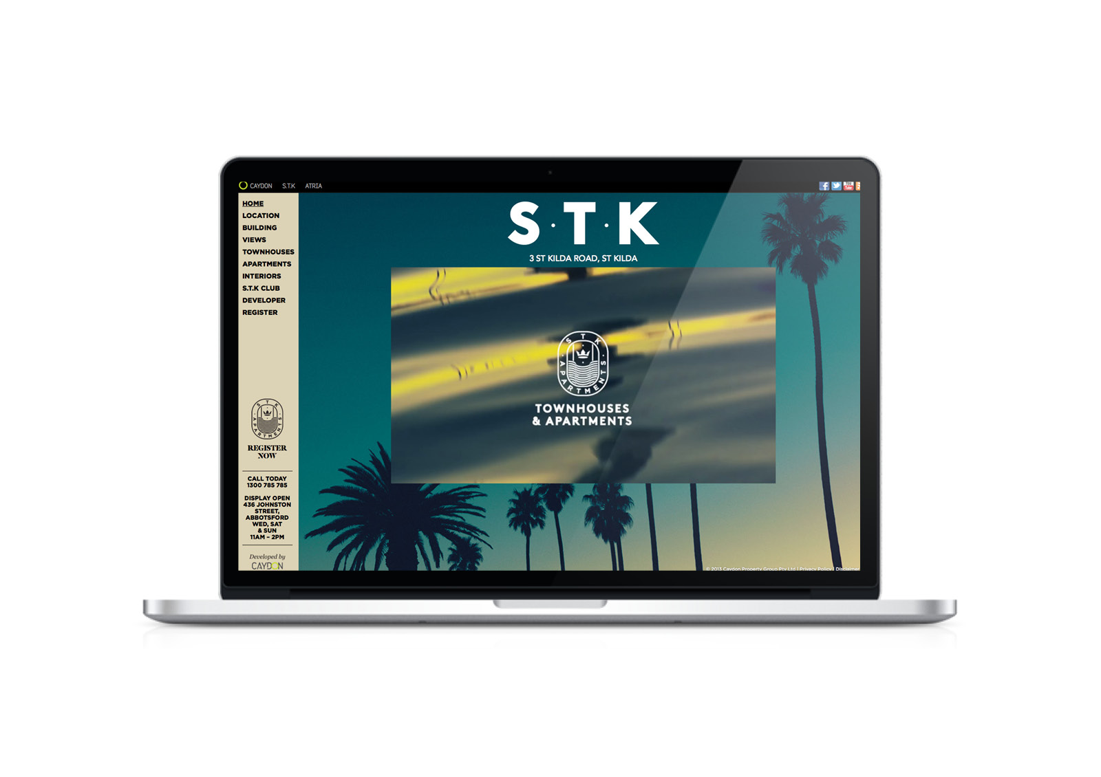 STK - home page