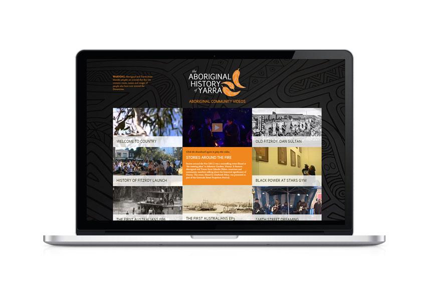 Aboriginal history of yarra website videos