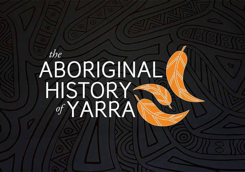 Aboriginal history of yarra logo