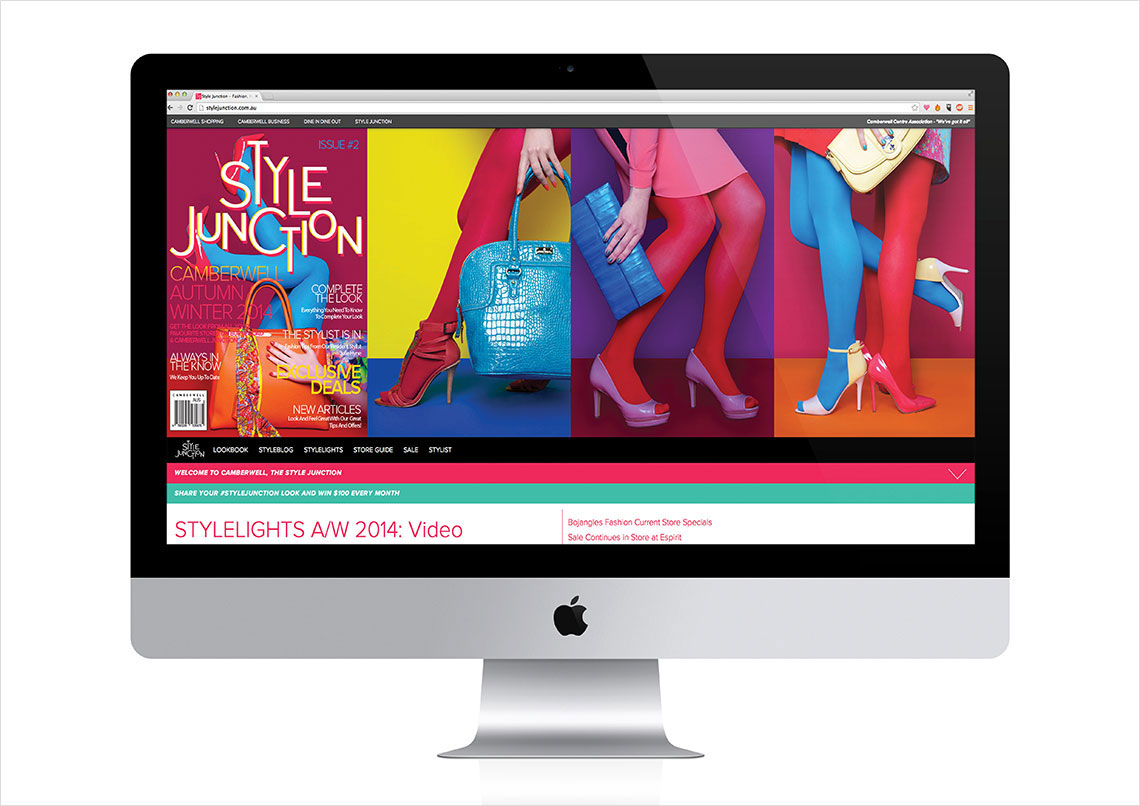 The Style Junction iMac