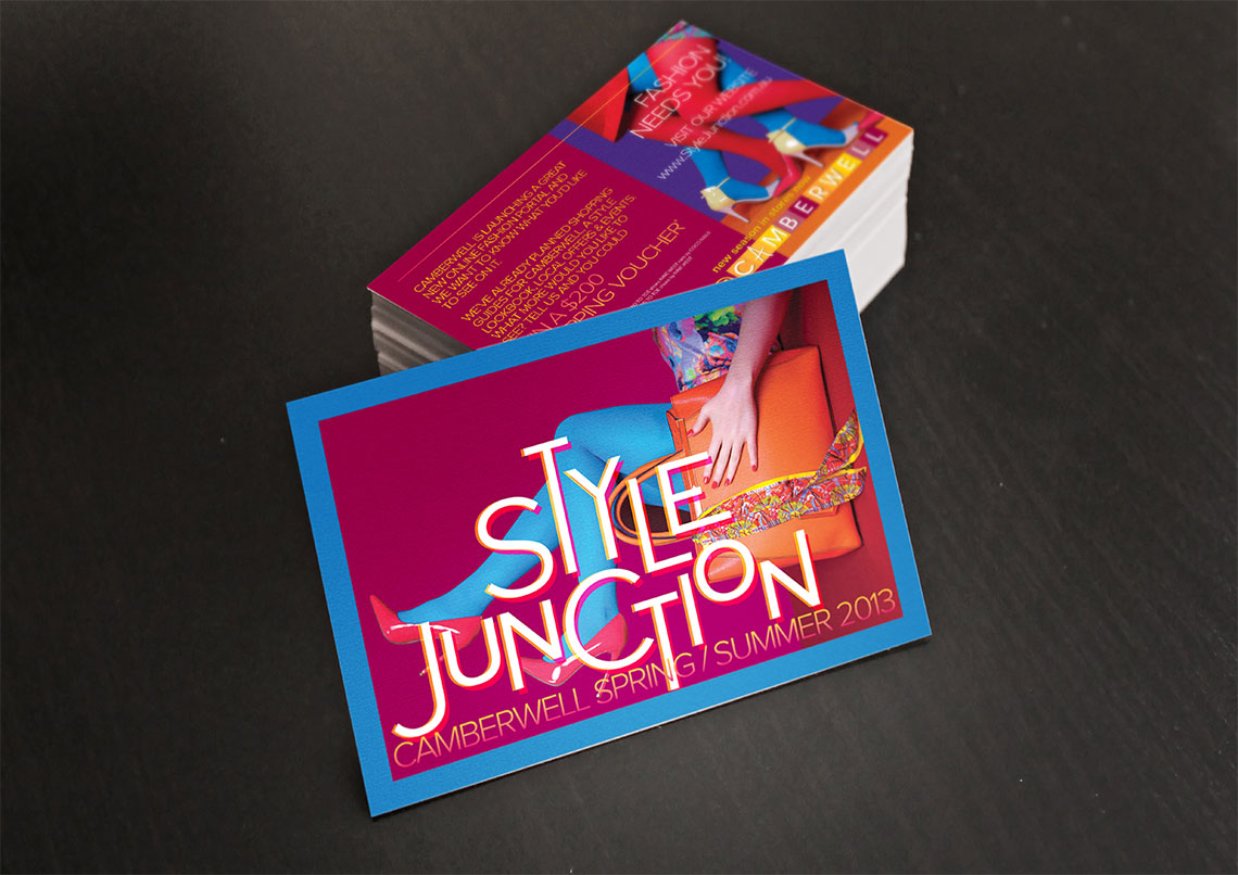 Style Junction postcards