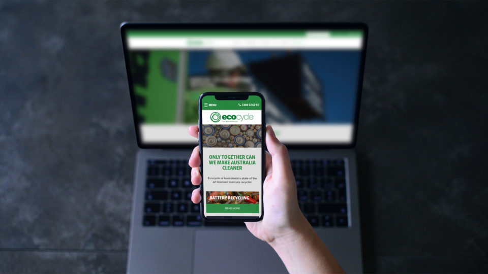 Ecocycle - website across devices