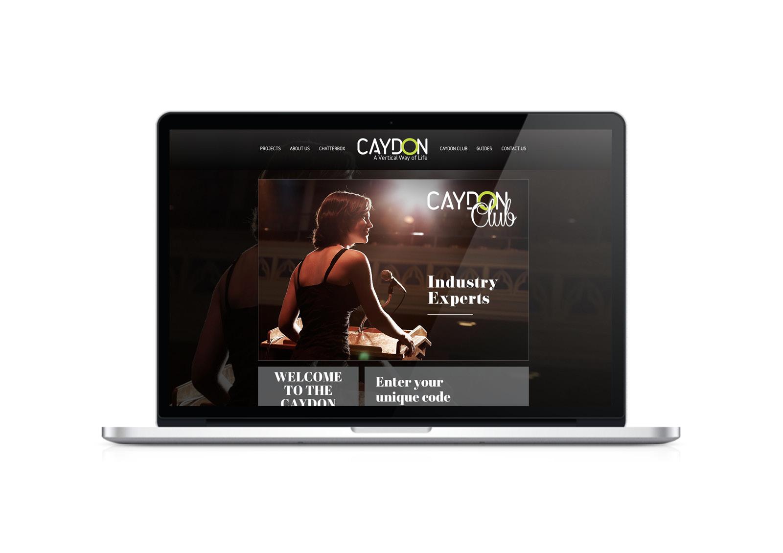 Caydon website - club