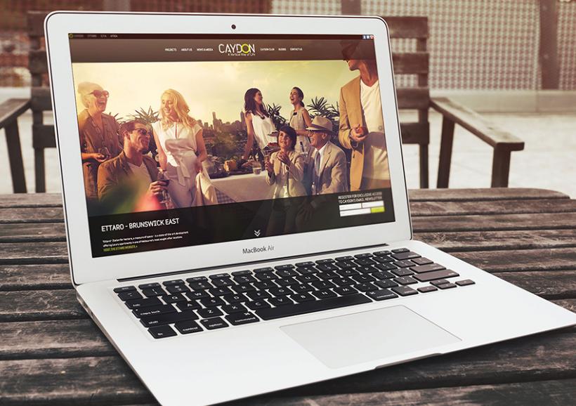 Caydon website in action