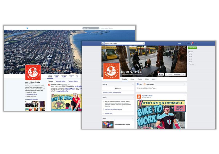 City of Port Phillip - Bike to Work - facebook