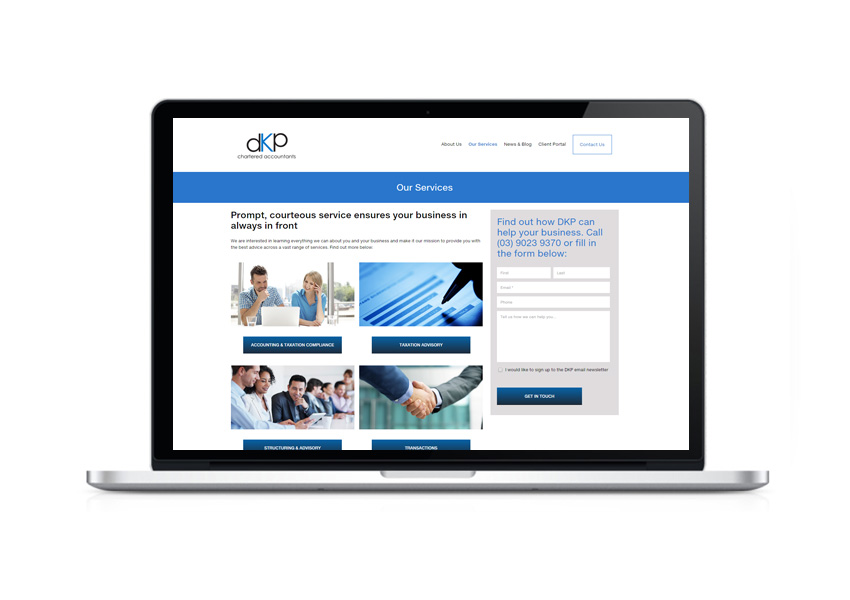 DKP - Website services