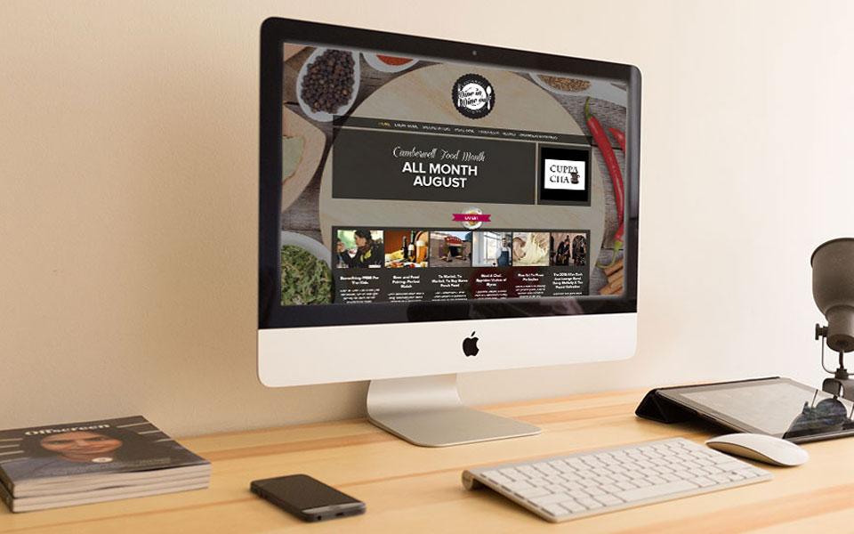 Dine In Dine Out website