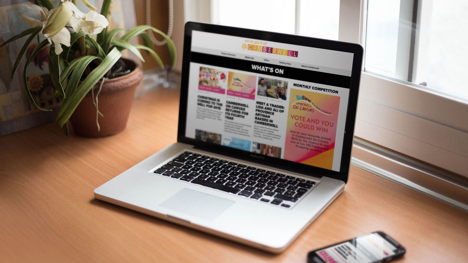 Camberwell website