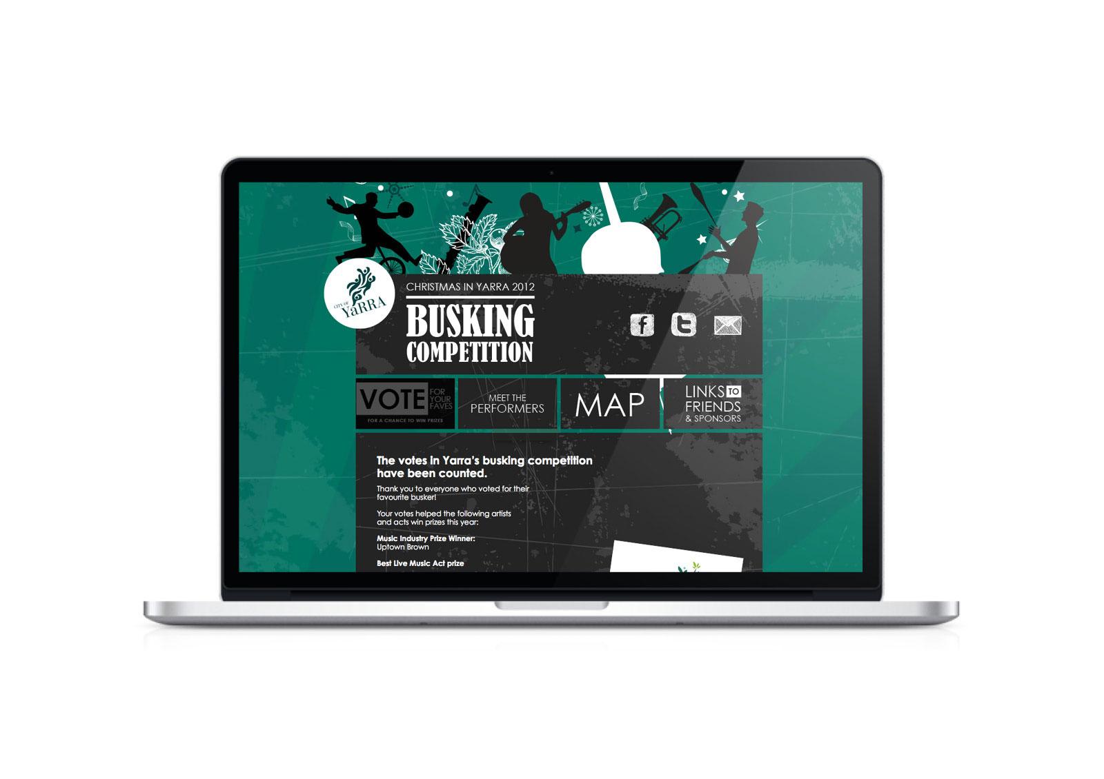 City Of Yarra - Busking In Yarra website