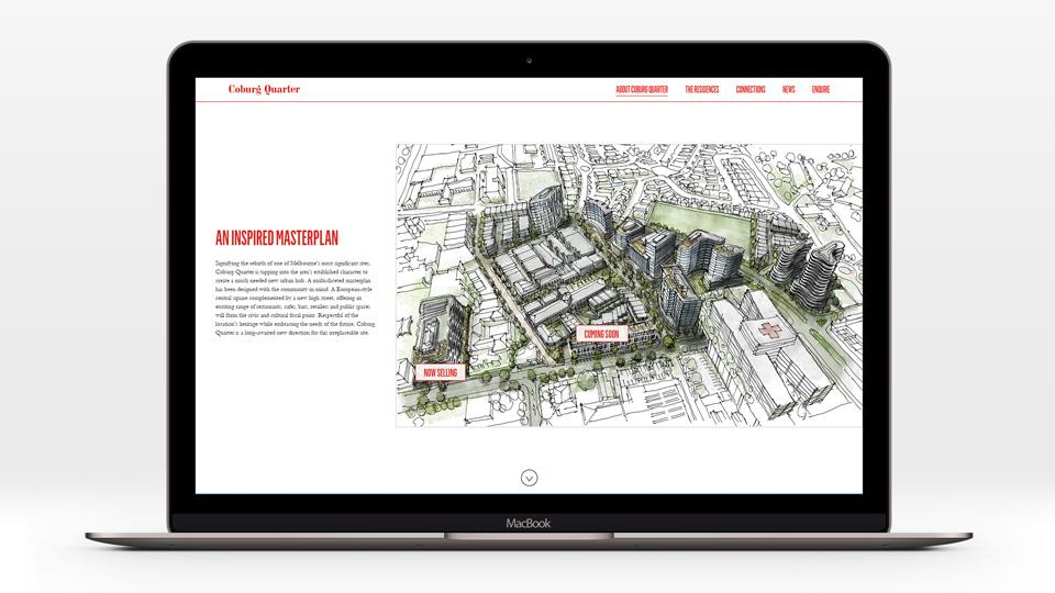 Coburg Quarter - Masterplan