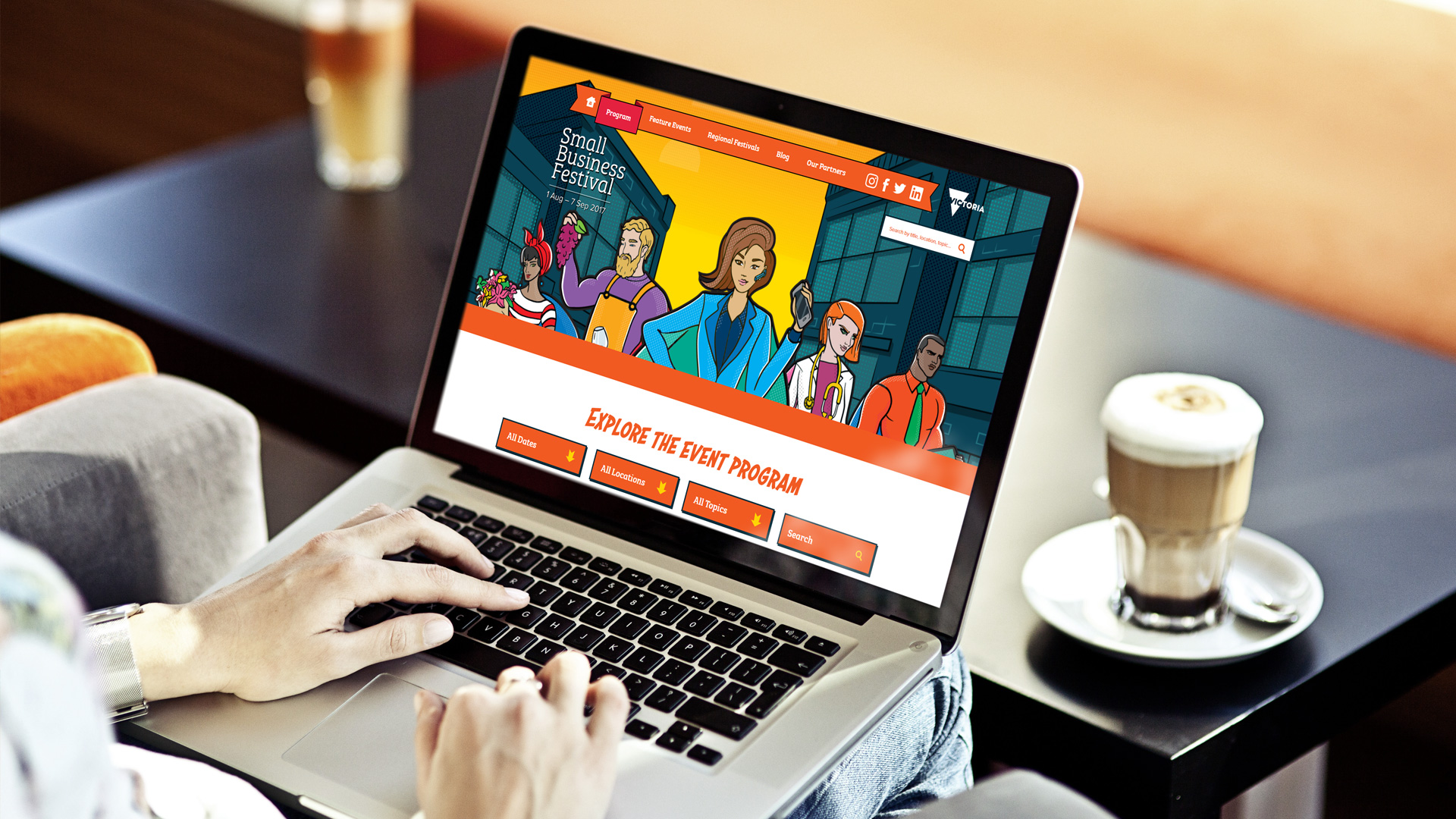 Small Business Festival website
