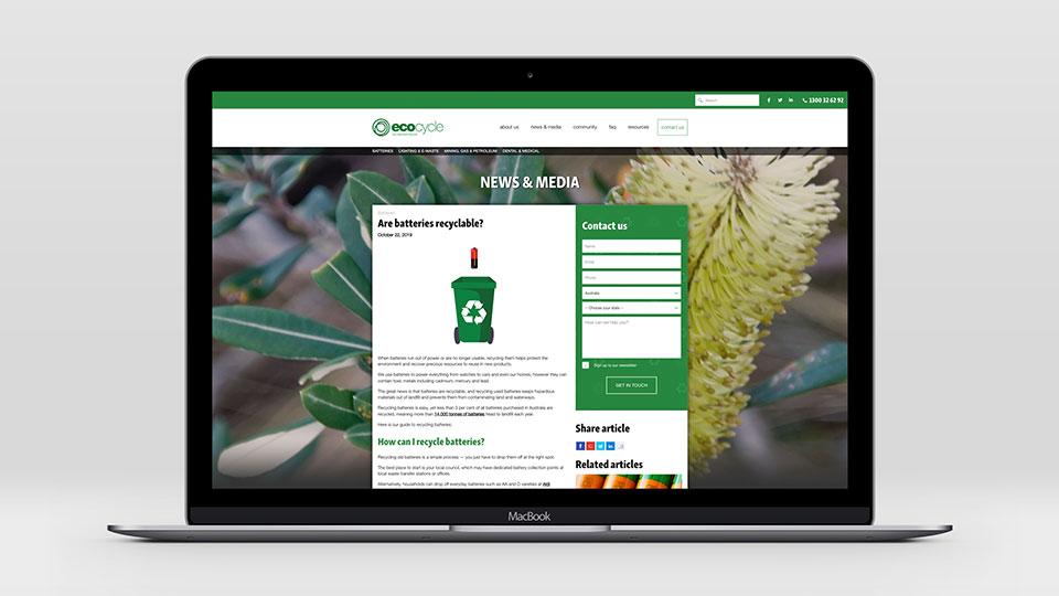 Ecocycle website